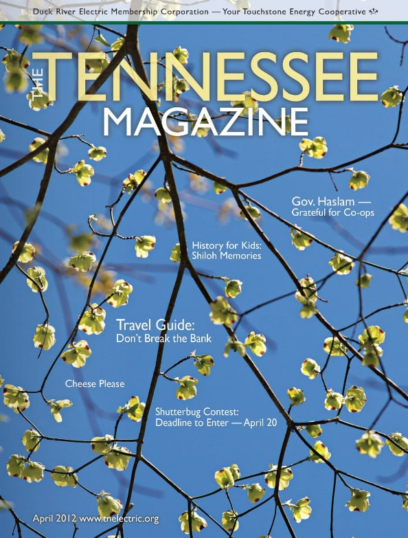 Tennessee Magazine cover for April 2012
