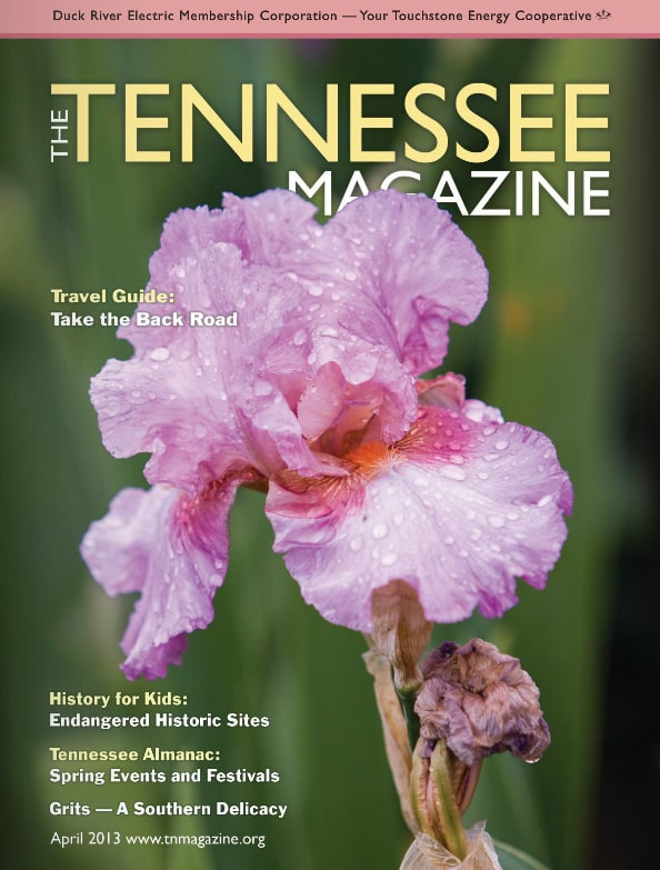 Tennessee Magazine cover for April 2013