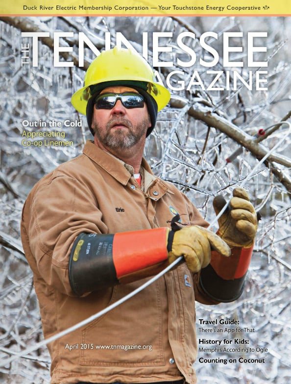 Tennessee Magazine cover for April 2015