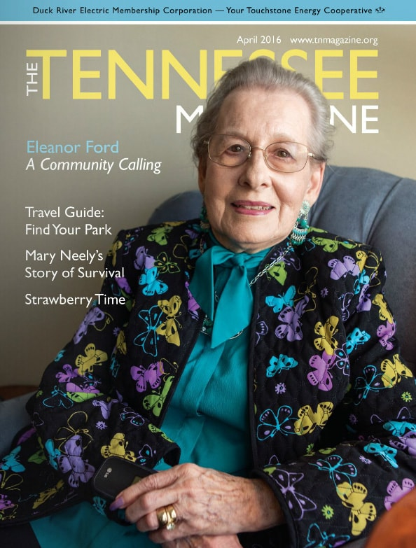 Tennessee Magazine cover for April 2016