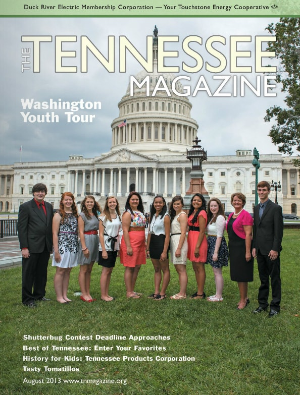 Tennessee Magazine cover for August 2013