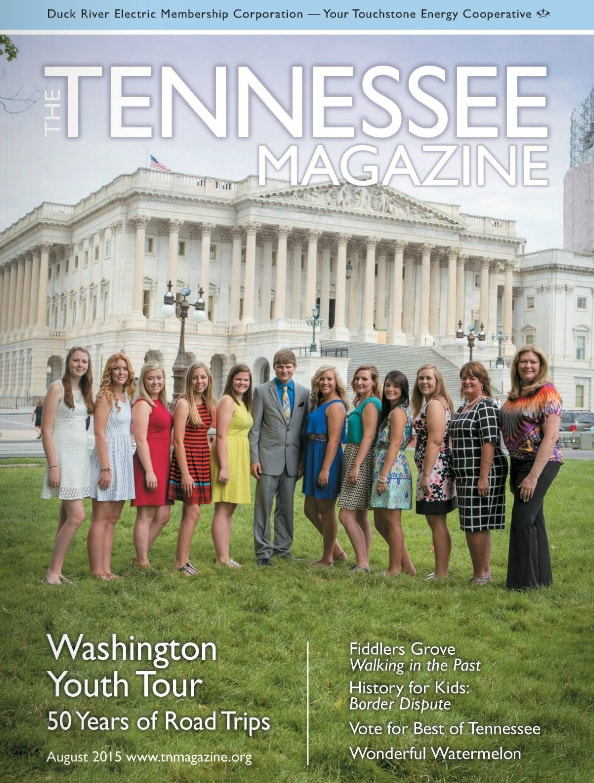 Tennessee Magazine cover for August 2015