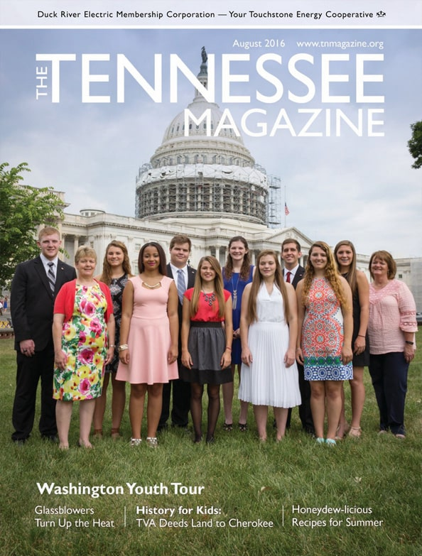 Tennessee Magazine cover for August 2016