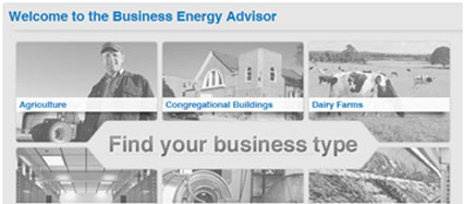 Duck River Business Energy Advisor Screenshot