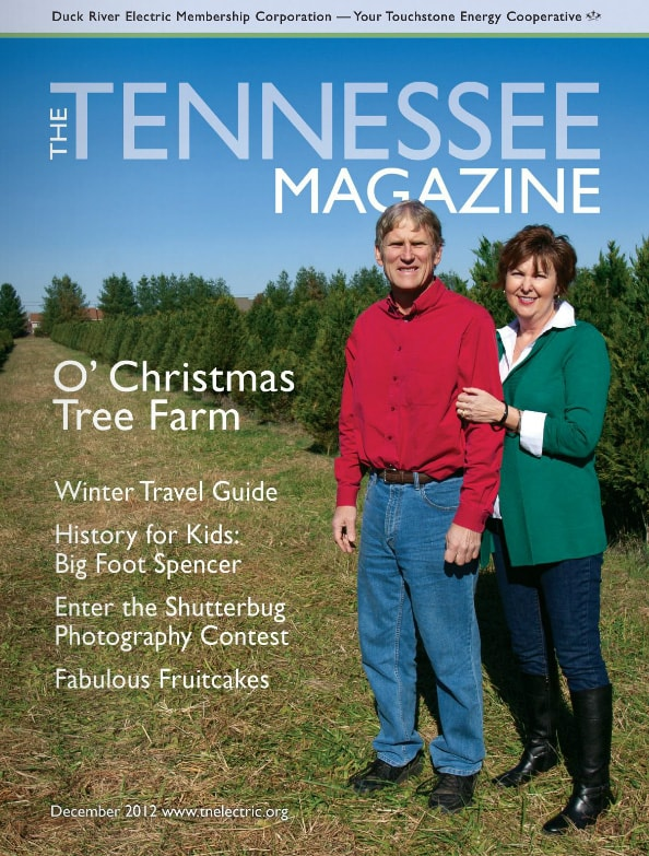 Tennessee Magazine cover for December 2012