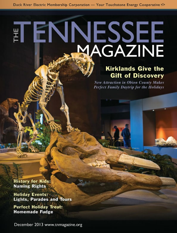 Tennessee Magazine cover for December 2013