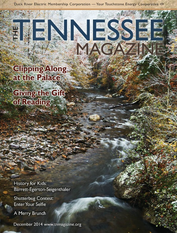 Tennessee Magazine cover for December 2014
