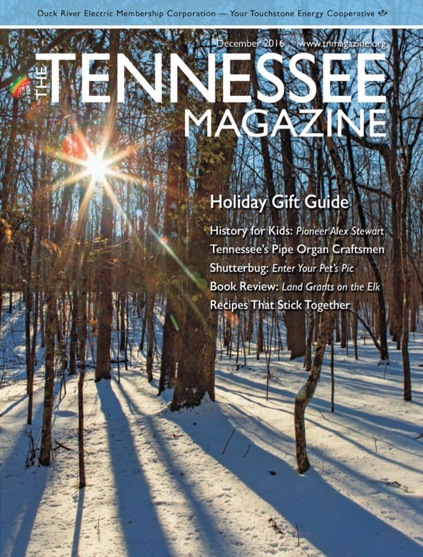Tennessee Magazine cover for December 2016