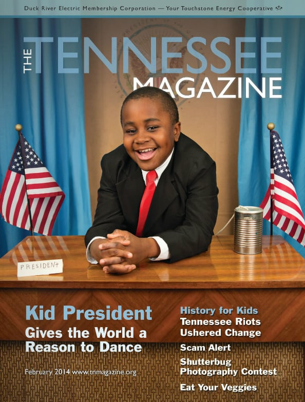 Tennessee Magazine cover for February 2014