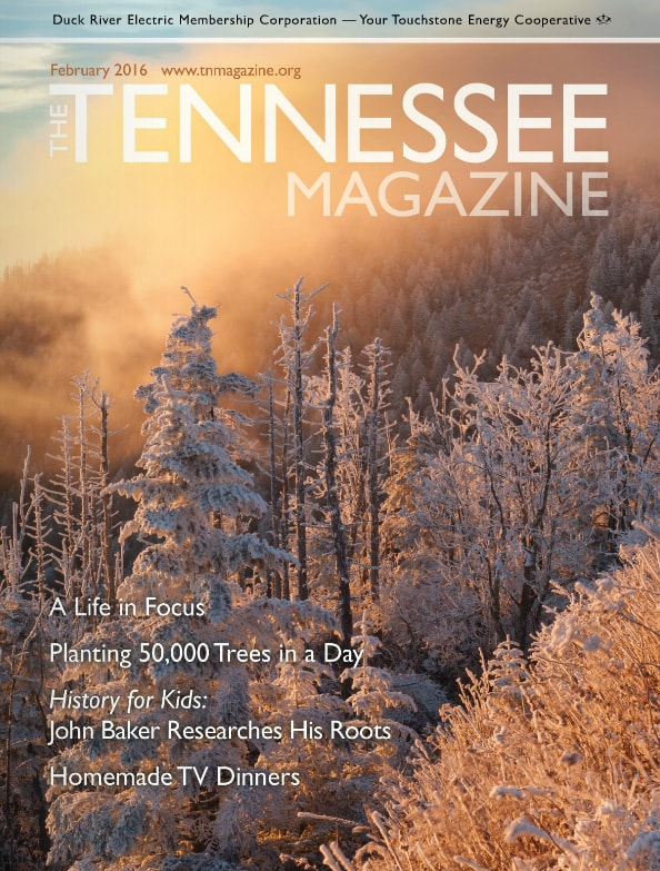 Tennessee Magazine cover for February 2016
