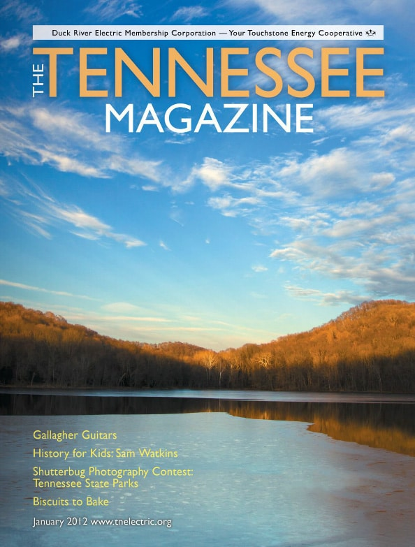 Tennessee Magazine cover for January 2012