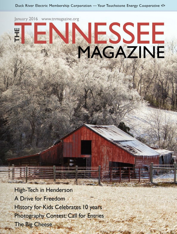 Tennessee Magazine cover for January 2016
