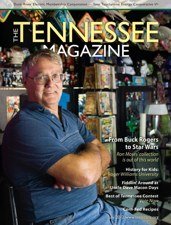 Tennessee Magazine cover for July 2012
