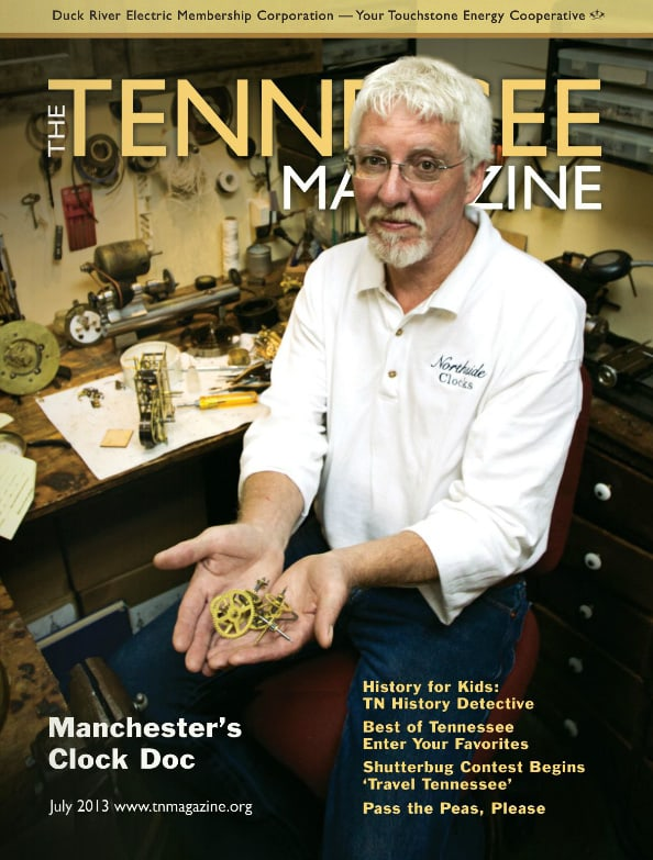 Tennessee Magazine cover for July 2013