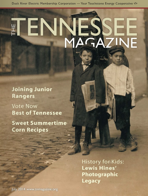 Tennessee Magazine cover for July 2014