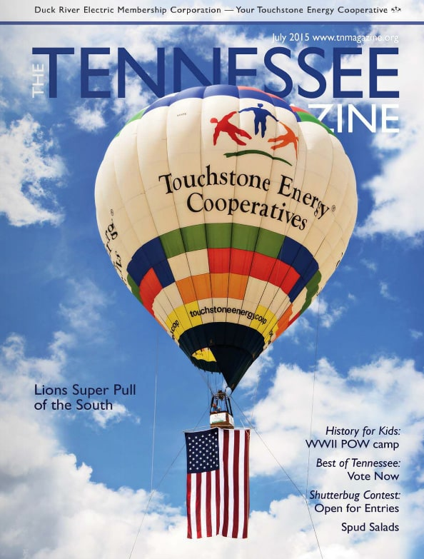 Tennessee Magazine cover for July 2015