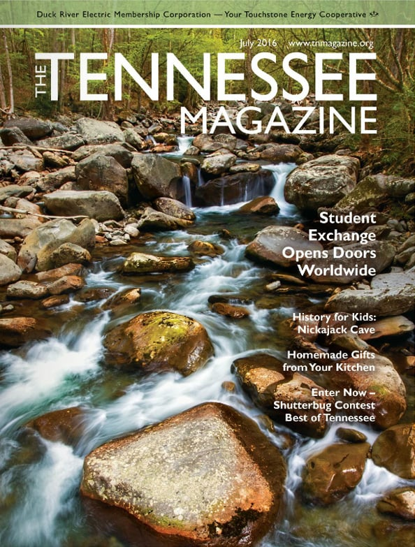 Tennessee Magazine cover for July 2016
