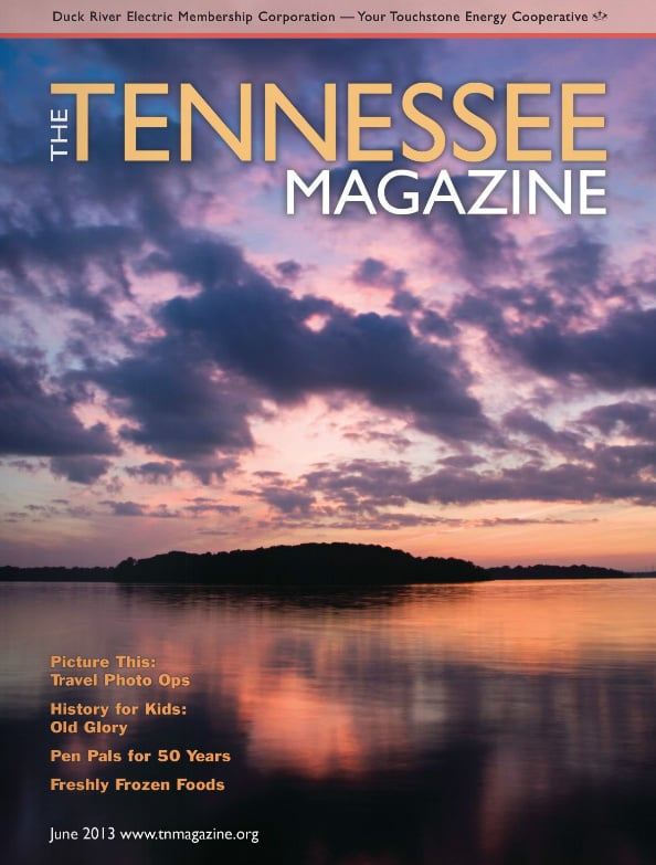 Tennessee Magazine cover for June 2013