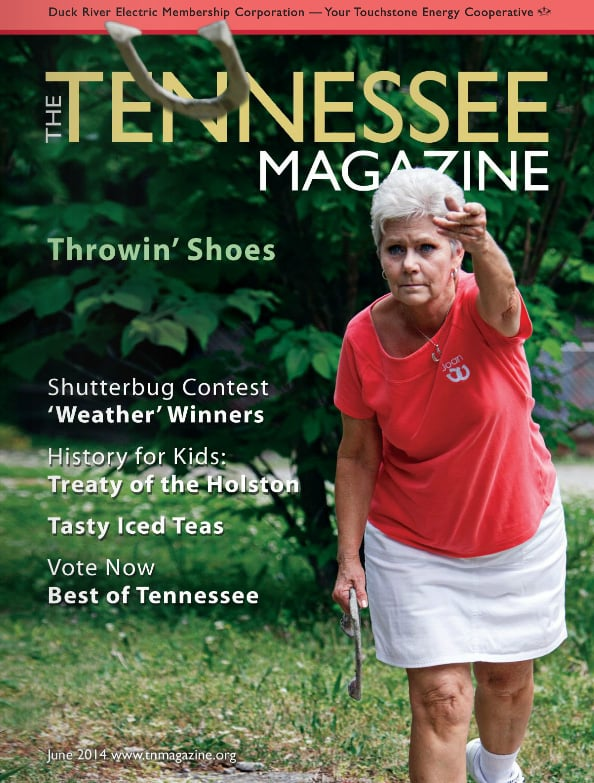 Tennessee Magazine cover for June 2014