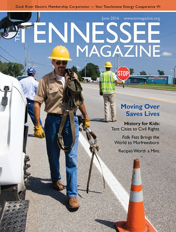 Tennessee Magazine cover for June 2016