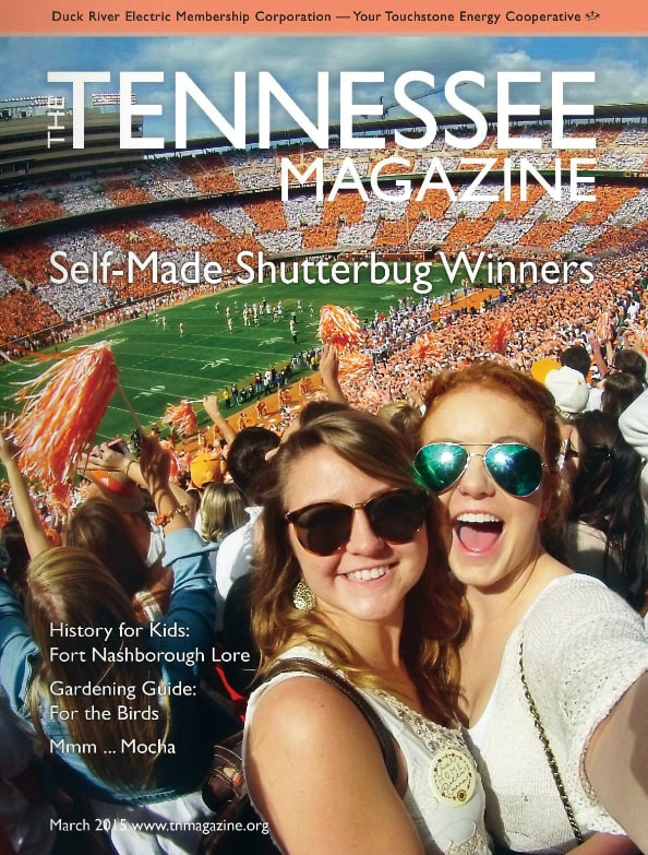 Tennessee Magazine cover for March 2015