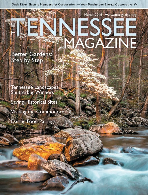 Tennessee Magazine cover for March 2016