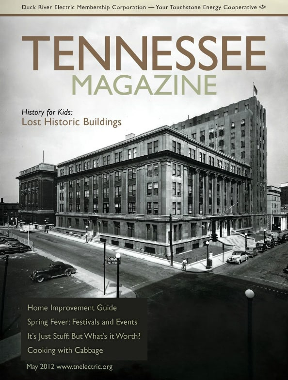 Tennessee Magazine cover for May 2012