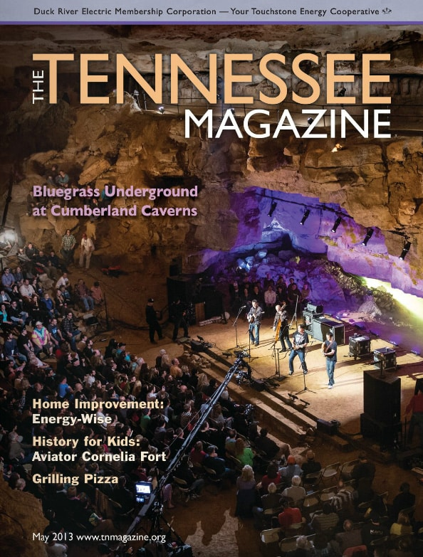 Tennessee Magazine cover for May 2013