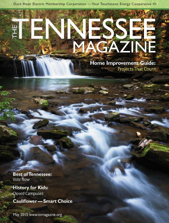 Tennessee Magazine cover for May 2015