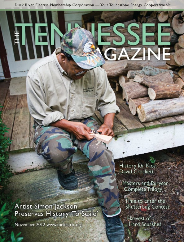 Tennessee Magazine cover for November 2012