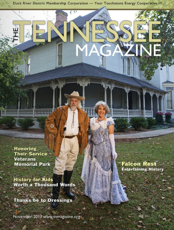 Tennessee Magazine cover for November 2013