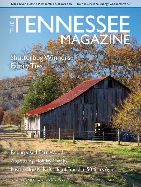 Tennessee Magazine cover for November 2014