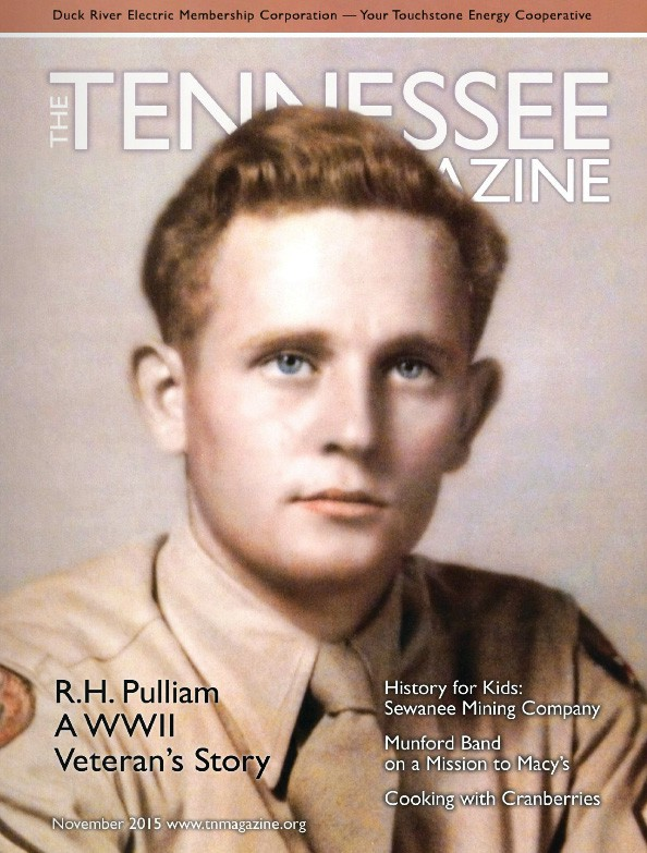 Tennessee Magazine cover for November 2015