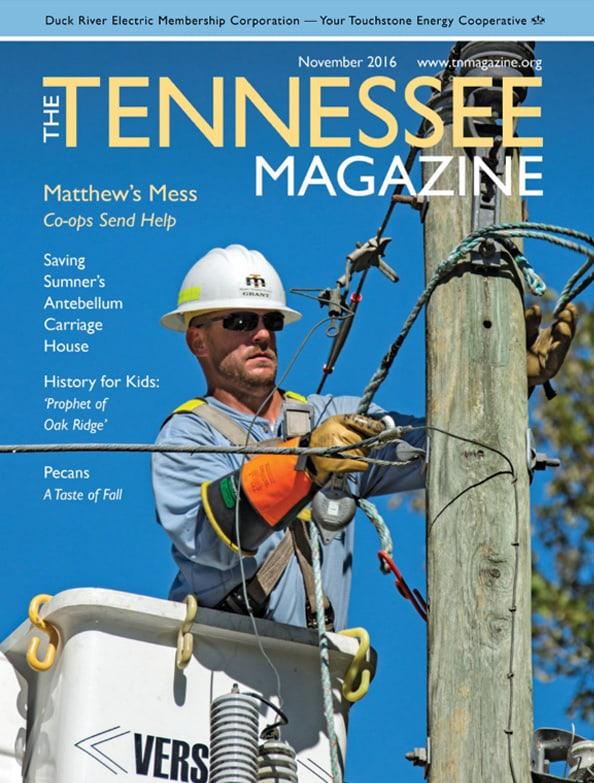 Tennessee Magazine cover for November 2016