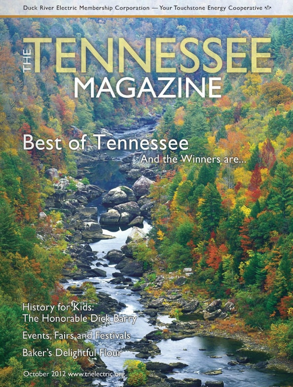 Tennessee Magazine cover for October 2012