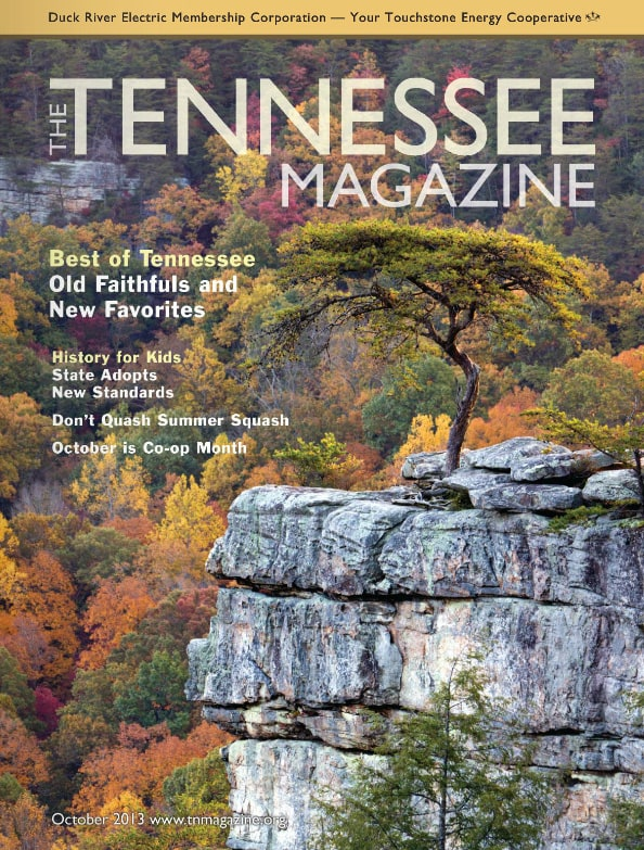 Tennessee Magazine cover for October 2013