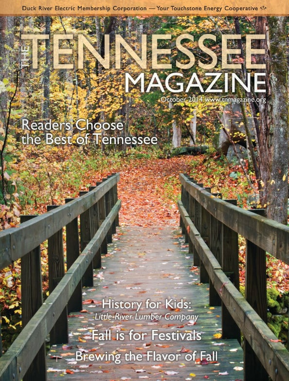 Tennessee Magazine cover for October 2014