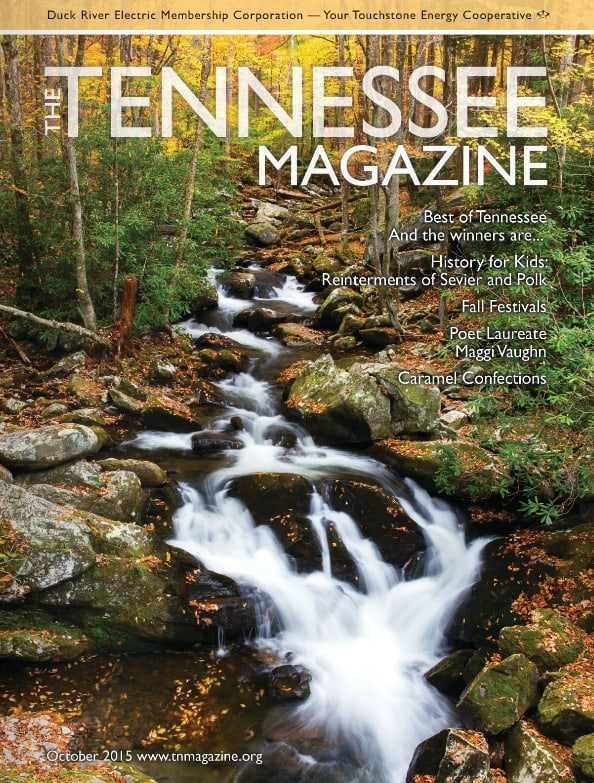 Tennessee Magazine cover for October 2015
