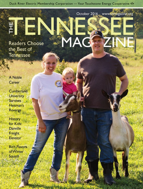 Tennessee Magazine cover for October 2016