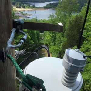 Duck River transformer in a rural area