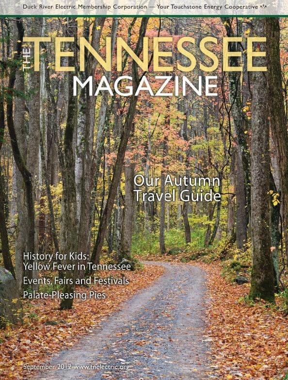 Tennessee Magazine cover for September 2012
