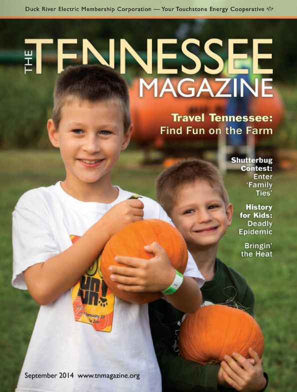 Tennessee Magazine cover for September 2014