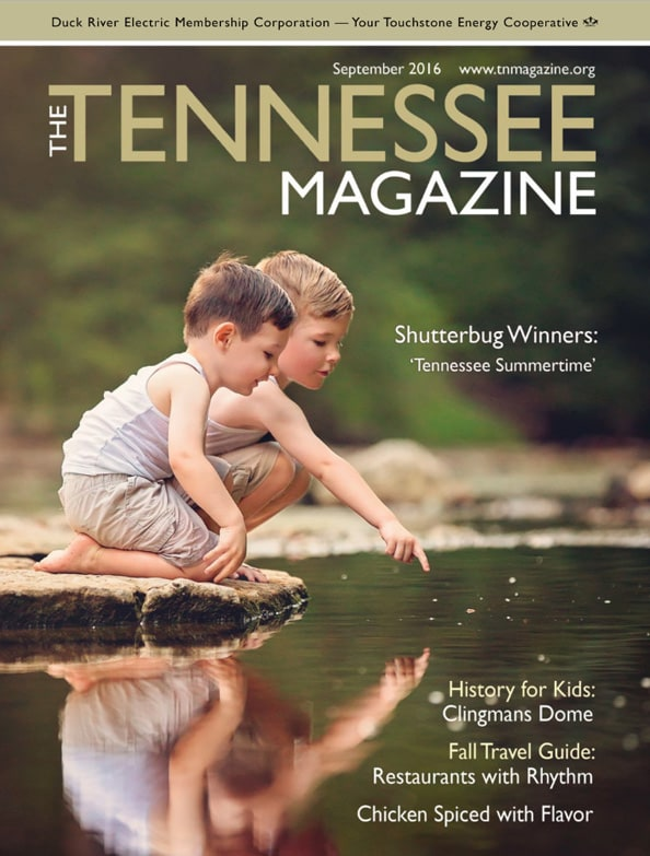 Tennessee Magazine cover for September 2016