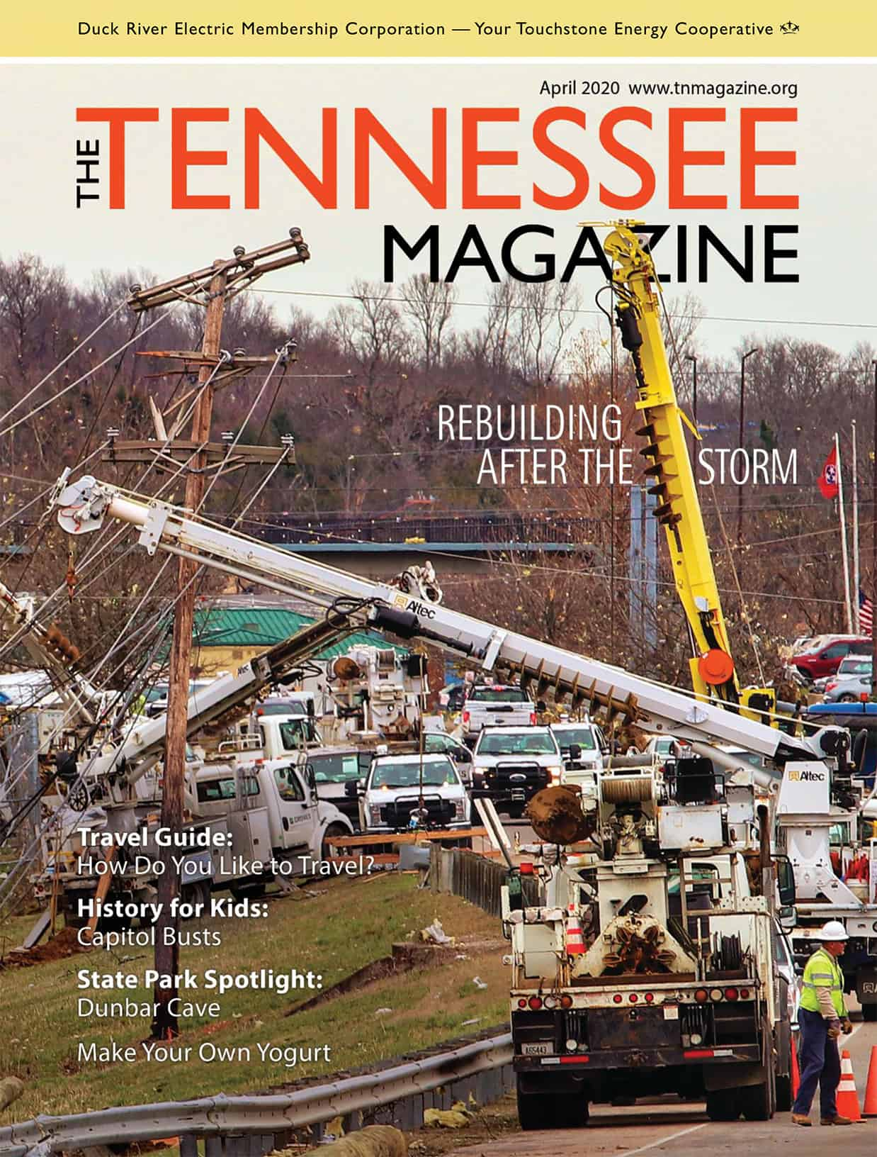 Tennessee Magazine April 2020 Cover