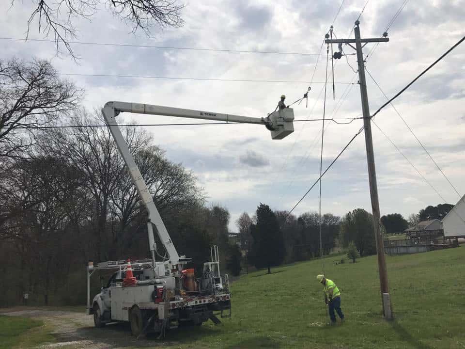 Power Line fixing