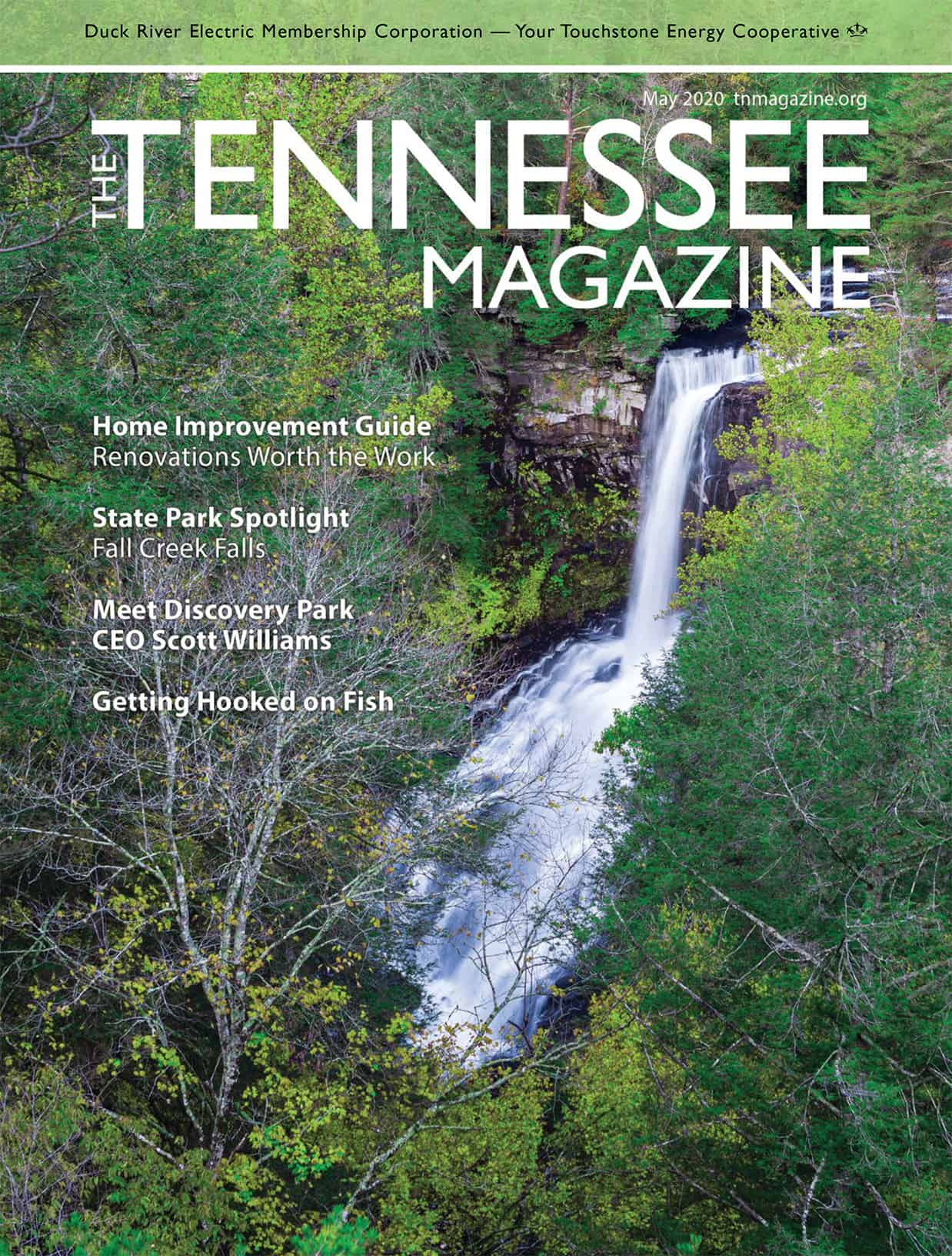 Tennessee Magazine May 2020 Cover