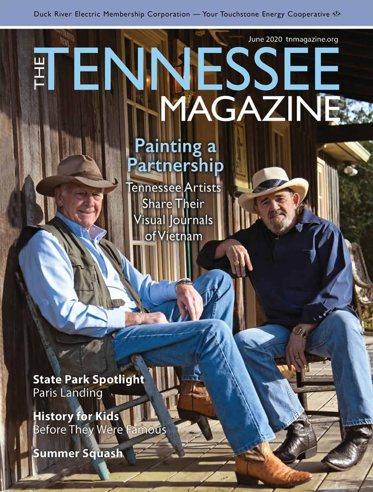 Tennessee Magazine June 2020 Cover