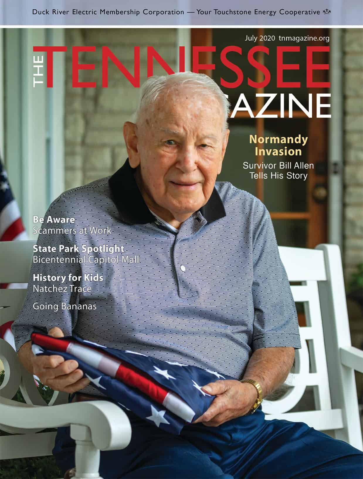 Tennessee Magazine July 2020 Cover