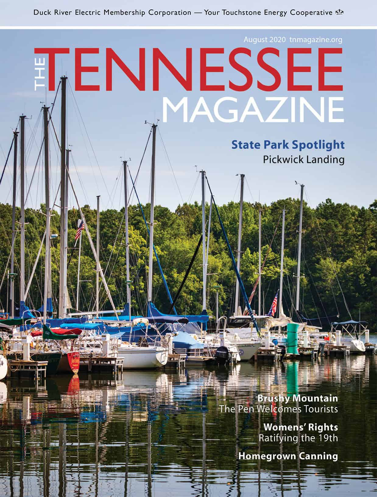 Tennessee Magazine August 2020 Cover