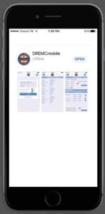 DREMC mobile app Preview